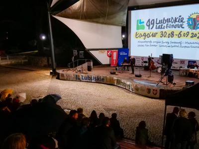 Koncert w łagowskim amfiteatrze