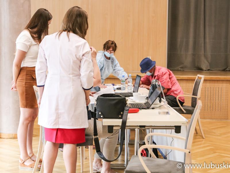 Punkt szczepień w Urzędzie Marszałkowskim
