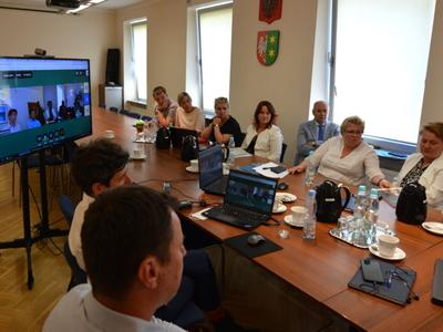 Spotkanie ws. realizacji projektu ODRA VELO