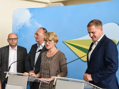 Zarząd Województwa Lubuskiego - konferencja prasowa
