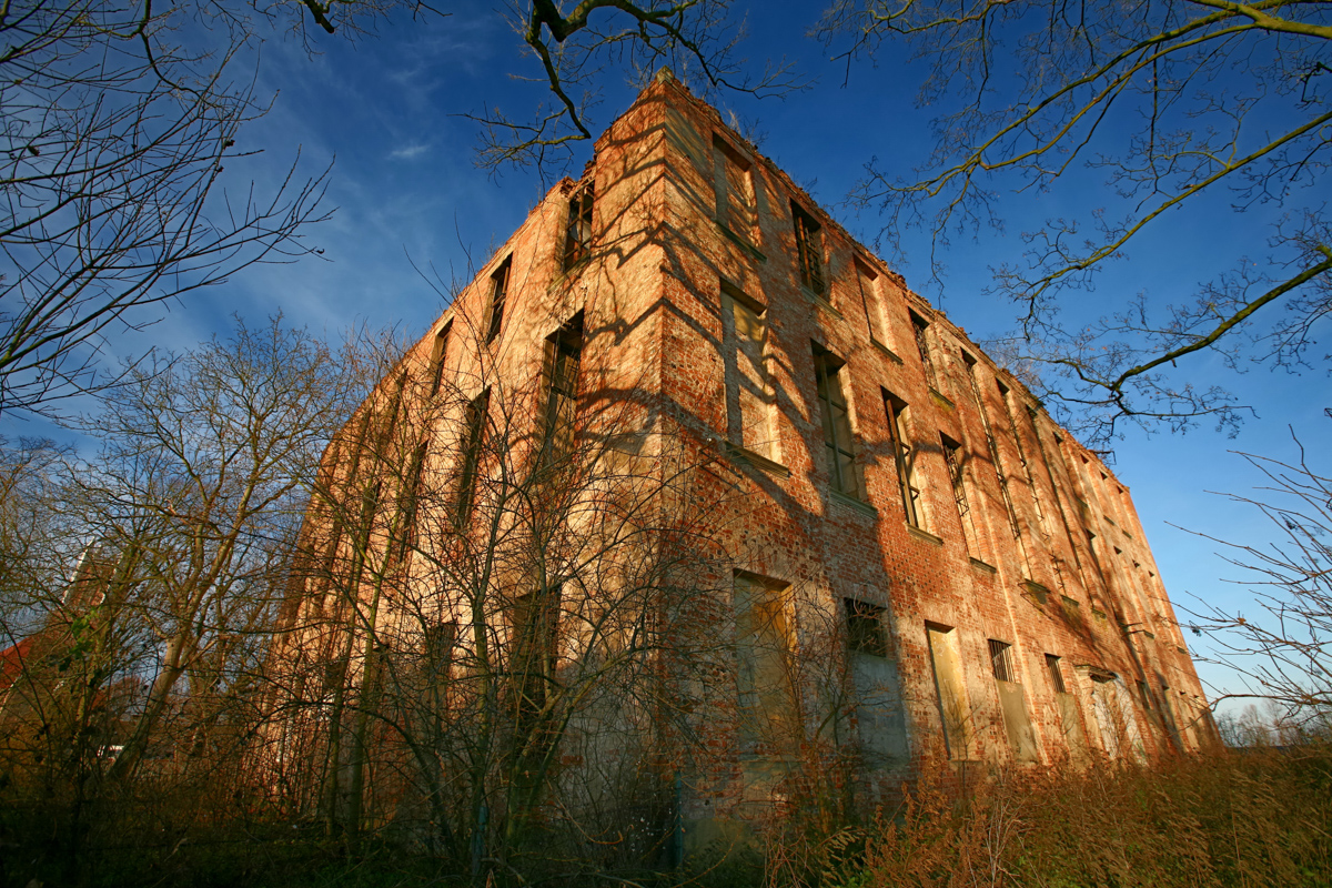Ruiny pałacu Joannitów w Słońsku