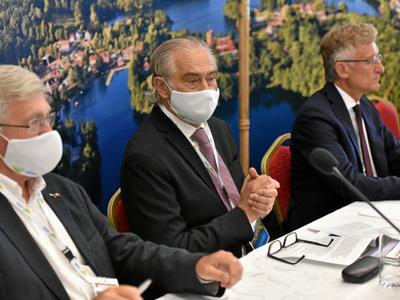 Olgierd Łukaszewicz na Konwencie Marszałków
