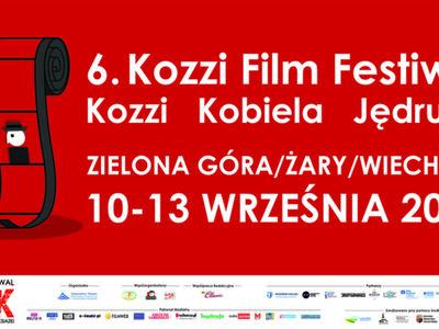 Banner Kozzi Film Festiwal z logotypami.