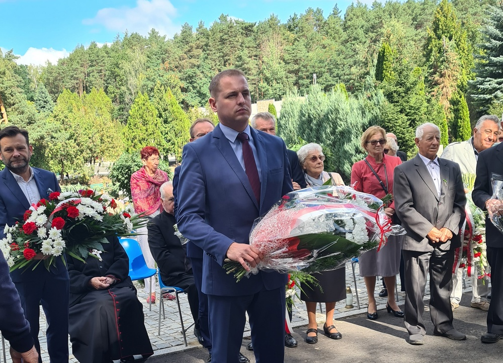 Wicemarszałek Łukasz Porycki.