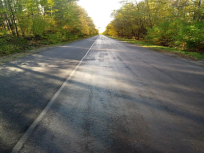 Droga asfaltowa.