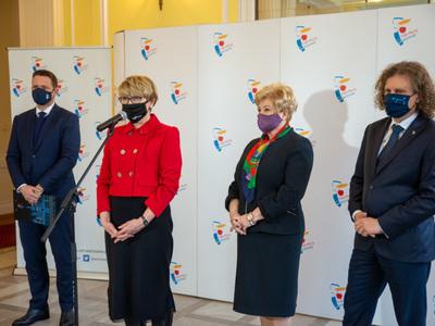 Konferencja prasowa w Warszawie