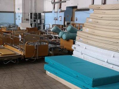 Transport darów od Szwajcarów dla Lubuskiego trafił do Szpitala dla Nerwowo i Psychicznie Chorych w Międzyrzeczu