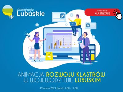 Plakat promujący webinarium.