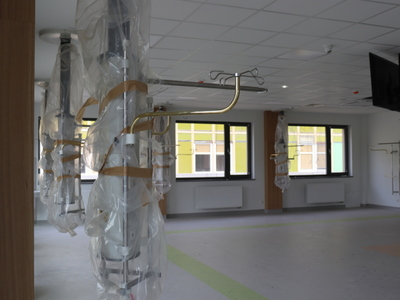 Budynek Pododdziału Dziennej Chemioterapii w gorzowskim szpitalu będzie miał powierzchnię 600 m kw. Fot. Wielospecjalistyczny Szpital Wojewódzki w Gorzowie