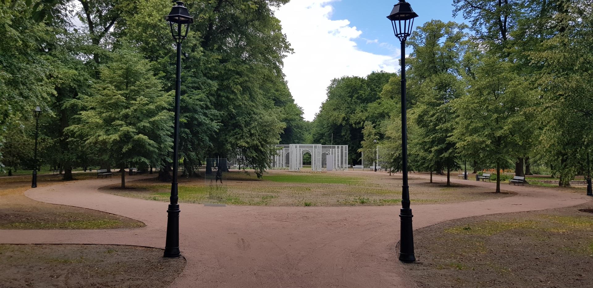 Park w Laskach.