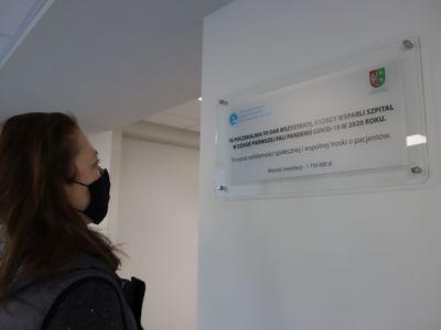 Nowa poczekalnia Izby Przyjęć powstała w imponującym czasie. Jej budowa trwała zaledwie 7 miesięcy i kosztowała ponad 1,7 mln złotych.  Fot. Wielospecjalistyczny Szpital Wojewódzki w Gorzowie Wlkp.