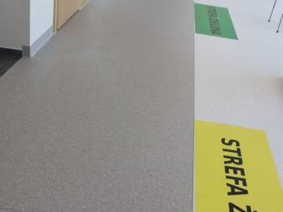 Niemal gotowe jest już jej pełne oznakowanie poczekalni Izby Przyjęć.  Fot. Wielospecjalistyczny Szpital Wojewódzki w Gorzowie Wlkp.