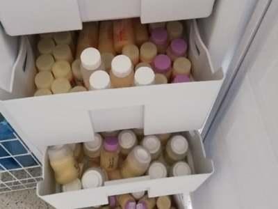 Zapasy Banku Mleka Kobiecego w zielonogórskim szpitalu starczą jeszcze na około miesiąc lub dwa. Fot. Szpital Uniwersytecki w Zielonej Górze