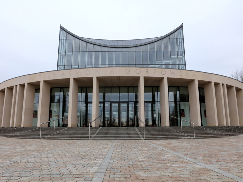 Budynek Filharmonii Gorzowskiej.