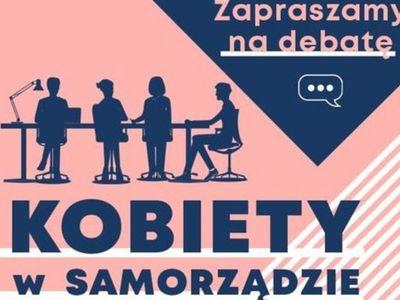 Plakat zapraszający na debatę.